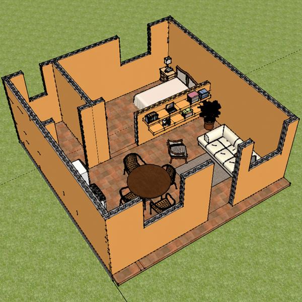 casa 6x6 - ARMO